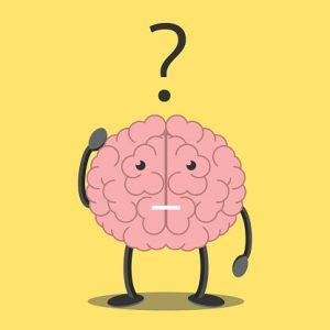 Brain character thinking
