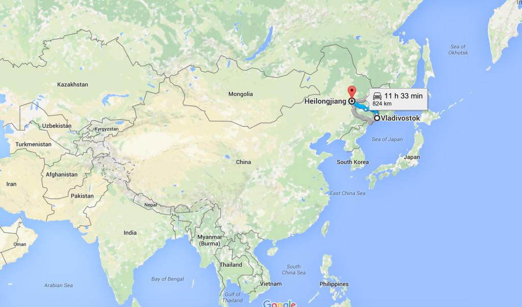 Chine / Russie