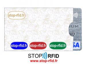 Un étui anti-NFC pour carte banciare