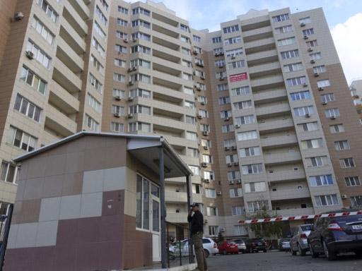 L'immeuble où habitait la tête du réseau, en Russie