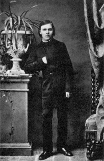 Nietzsche à ses 17 ans.
