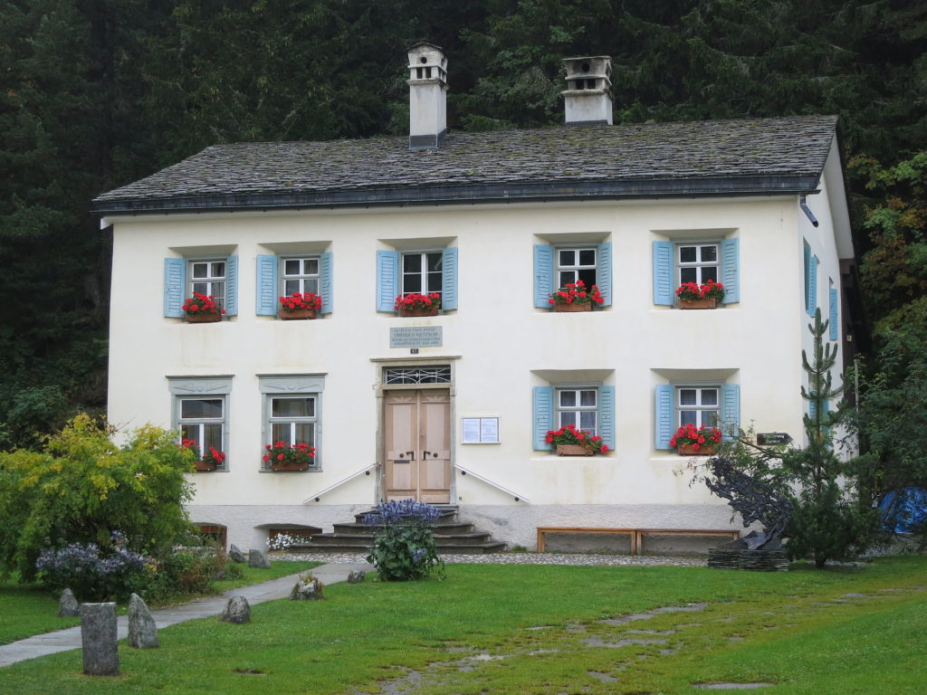 Un musée pour comprendre Nietzsche et sa philosophie, dans les alpes suisses.